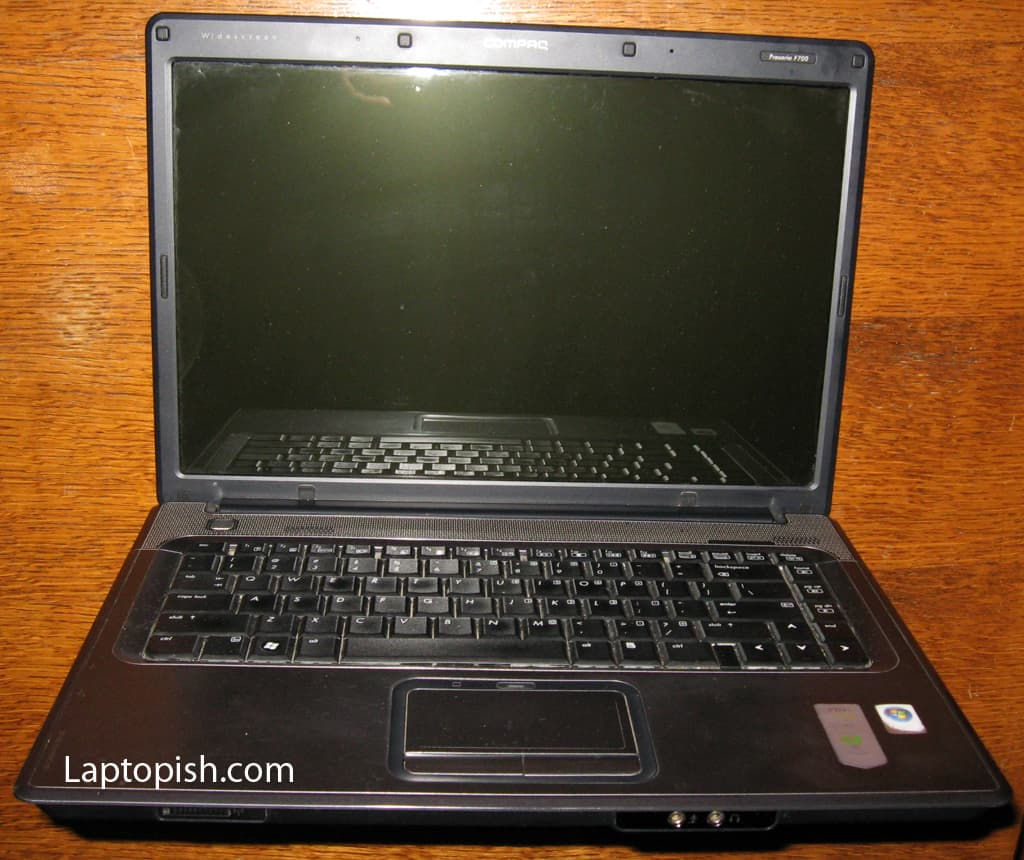 HP Compaq Presario F700 Notebook PC
