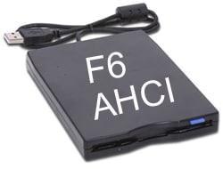 F6 floppy AHCI